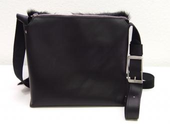 Springbocktasche Postbag Schwarz