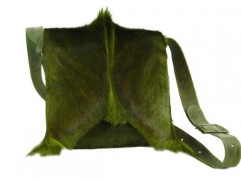 NEU! Springbockfelltasche Postbag Oliv