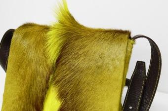 Springbocktasche Postbag Gelb