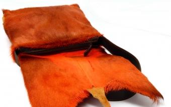 Springbockfell Tasche Postbag Orange