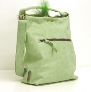 Beuteltasche Capetown Grün