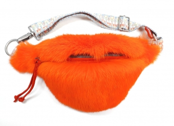 Retro CULTGUT Bauchtasche Bob Orange